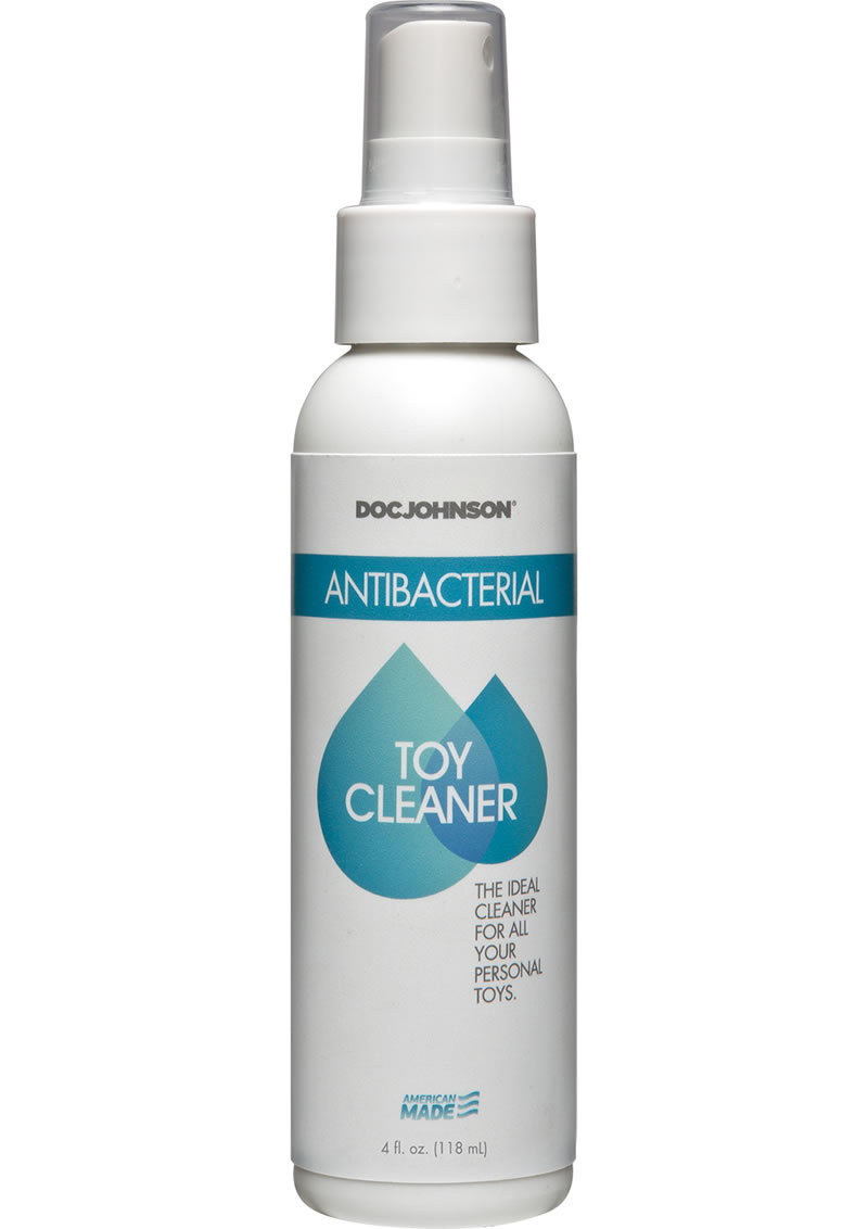 Doc Johnson Toy Cleaner Anti Bacterial Spray 4oz