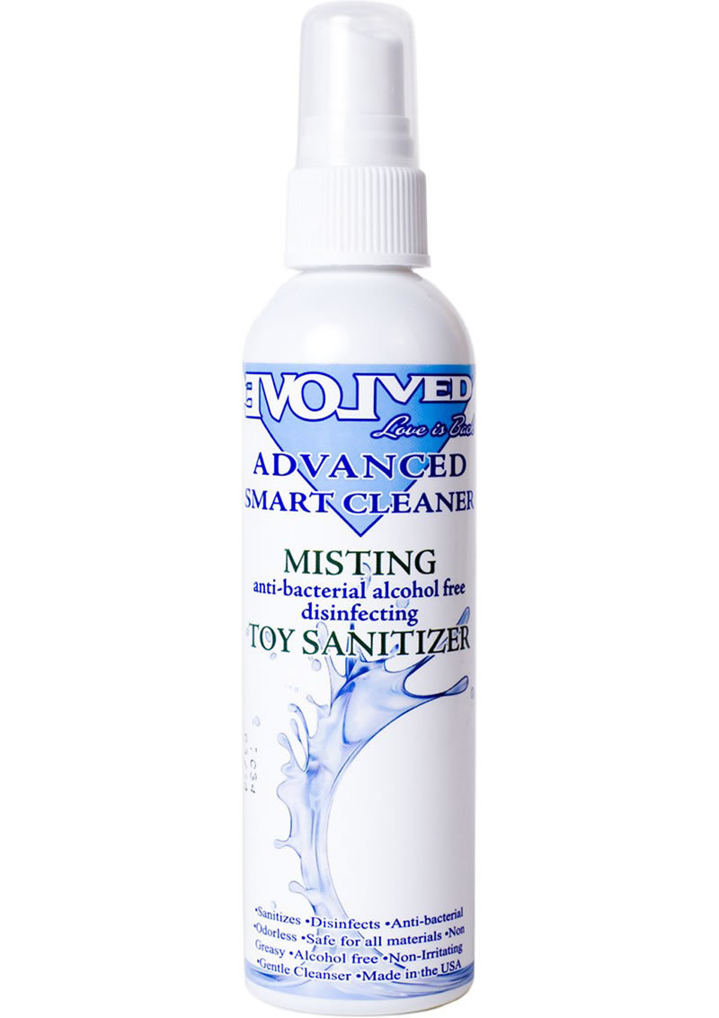 Smart Cleaner Misting Toy Sanitizer 4 Ounce Spray