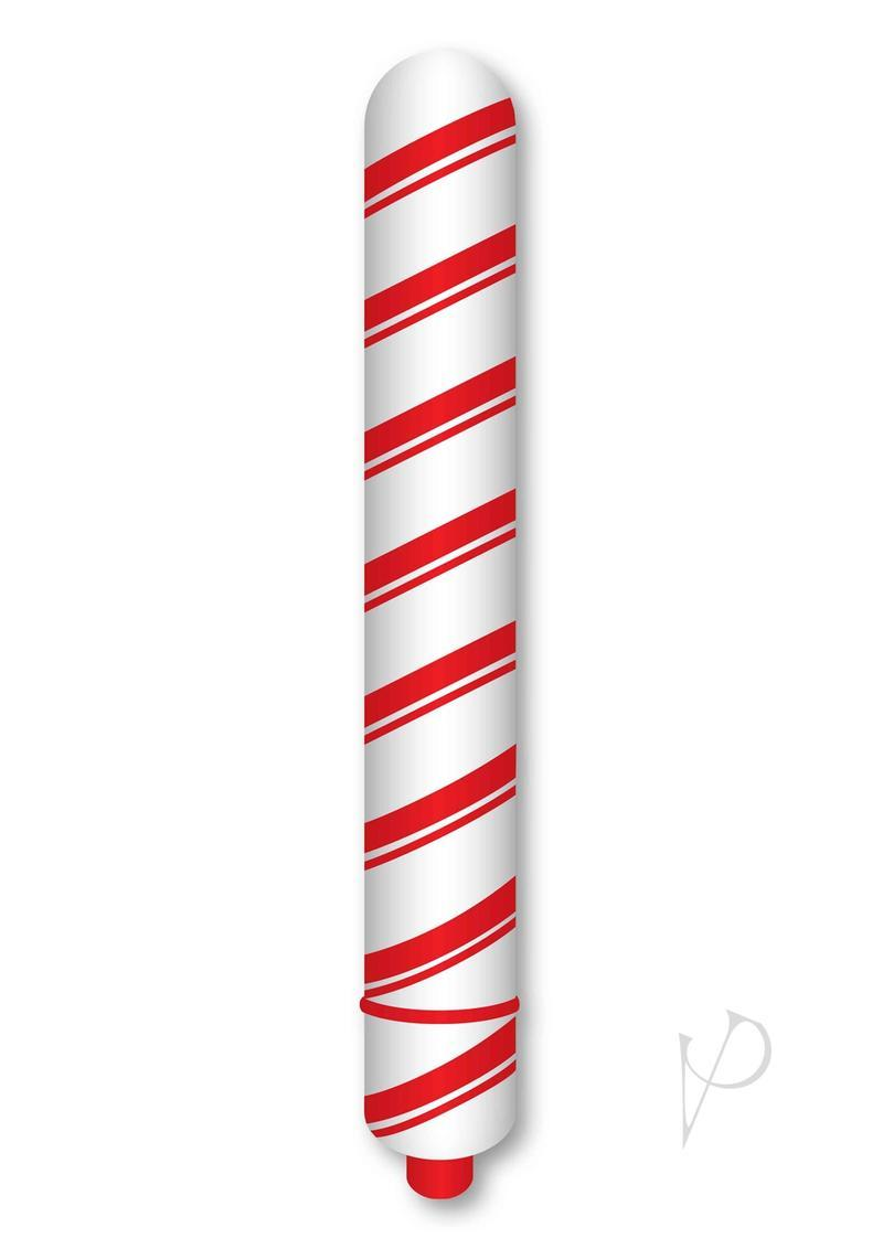 Rock Candy Christmas Candy Stick Vibrator Red